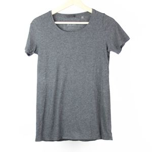 ATM Womens Blouse T-Shirt Solid Crewneck Small